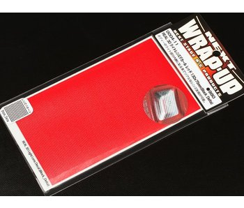 WRAP-UP Next REAL 3D Lens Decal Block Delta 130mm x 75mm - Red