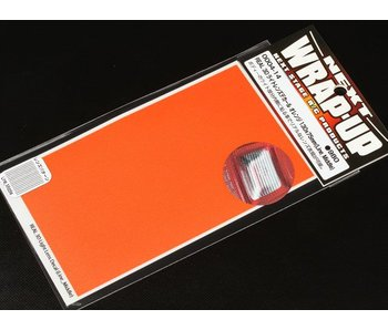 WRAP-UP Next REAL 3D Lens Decal Line Middle 130mm x 75mm - Orange