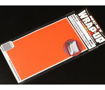 WRAP-UP Next REAL 3D Lens Decal Line Narrow 130mm x 75mm - Orange