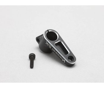 Yokomo Aluminium Servo Horn Clamp Type for Airtronics / KO 17mm - Black Edge Design
