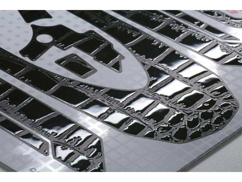 WRAP-UP Next 0002-66 - REAL 3D Premium Transmitter Skin for M12 - Crocodile / Black
