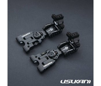 Usukani AR Ver 2.4 Rear Arm Set 2.5mm - Black