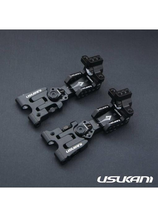 Usukani AR Ver 2.4 Rear Arm Set 2.5mm - Black