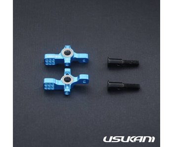 Usukani AR Ver 2 KPI Steering Knuckle Set - Yok Blue