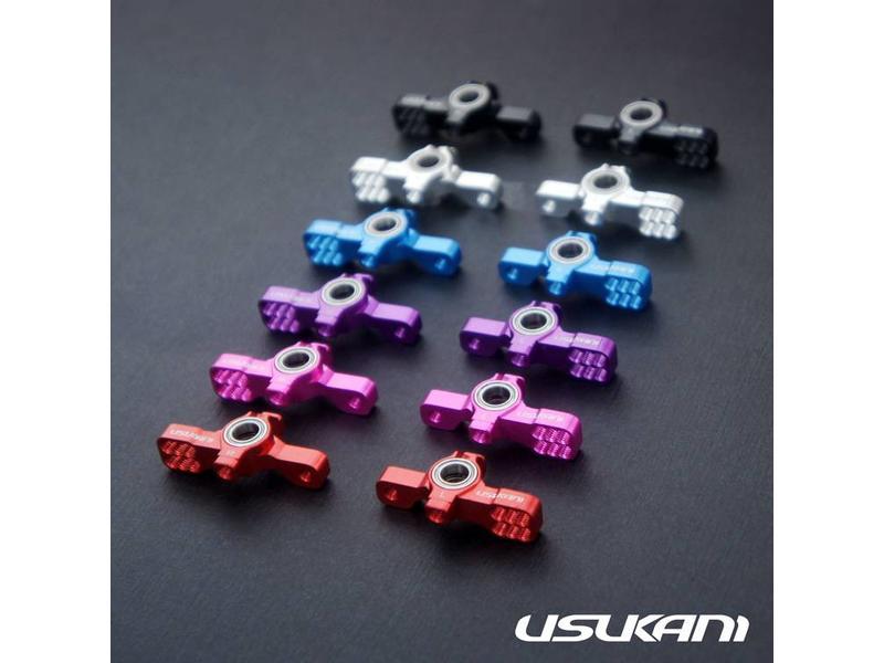 Usukani US88109-BK - AR Ver 2 KPI Steering Knuckle Set - Black
