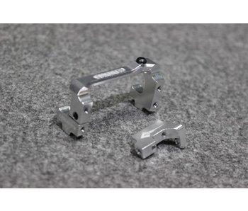 Usukani Aluminium Adjustable Servo Holder - Silver