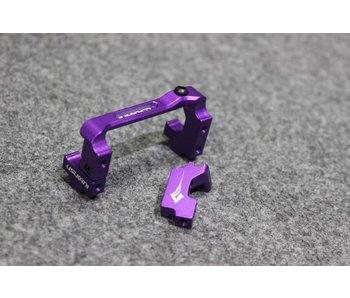 Usukani Aluminium Adjustable Servo Holder - Purple