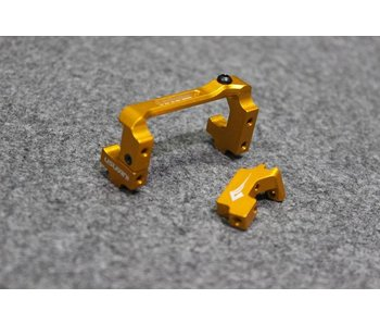 Usukani Aluminium Adjustable Servo Holder - Gold