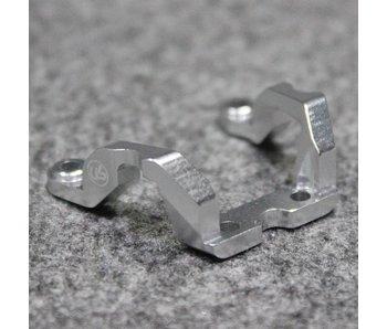 Usukani Aluminium Rear Brace for Yokomo DPR - Silver