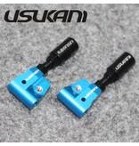 Usukani US88058-TB - Front Upper A-Arm Set - Tam Blue (2pcs)