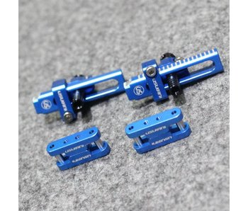 Usukani Aluminium Adjustable Bracket for Invisible Body Mount with Magnet - Yok Blue  (2pcs)