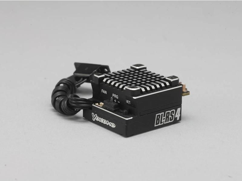 Yokomo BL-RS4 - BL-RS4 Speed Controller - Black