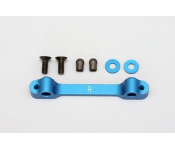 Yokomo Aluminium Rear Suspension Mount Front Side - Blue