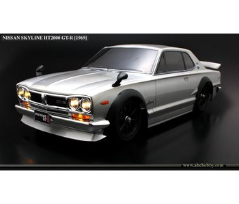 ABC Hobby Nissan Skyline HT2000 GT-R (KPGC10 Hakosuka) + Chrome Parts