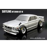ABC Hobby 66132 - Nissan Skyline HT2000 GT-R (KPGC10) + Over Fender Kit