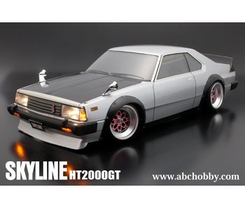 ABC Hobby Nissan Skyline HT2000GT (C210) + Over Fender Kit