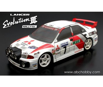 ABC Hobby Mitsubishi Lancer (Evolution III WRC Rally version)