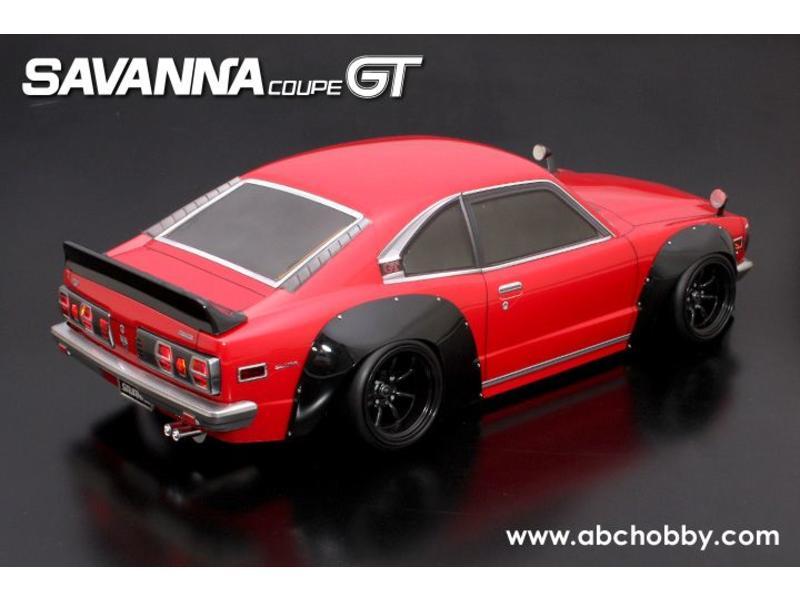 ABC Hobby 66160 - Mazda RX-3 (Savanna Coupe GT) + Racing Fender Kit