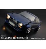 ABC Hobby 66163 - Nissan Skyline HT2000 GT-R (KPGC10) Rectangle Head Light + Over Fender Kit