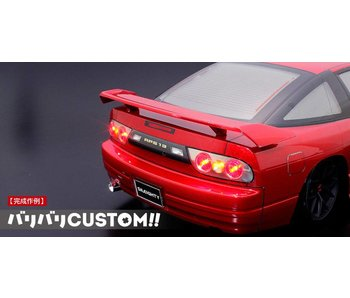 ABC Hobby Rear Wide Wing Genuine Type for Nissan 180SX (66137)