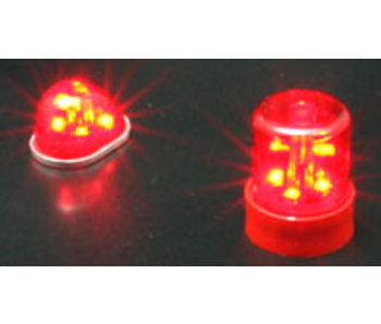 ABC Hobby Police Car Light Round Type - Red