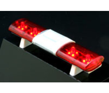 ABC Hobby Police Car Light Aero Sonic Type - Red