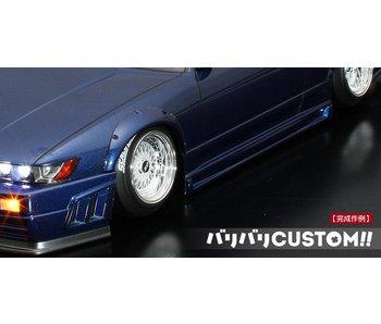 ABC Hobby Over Fender Kit for Nissan Silvia S13 (66142)