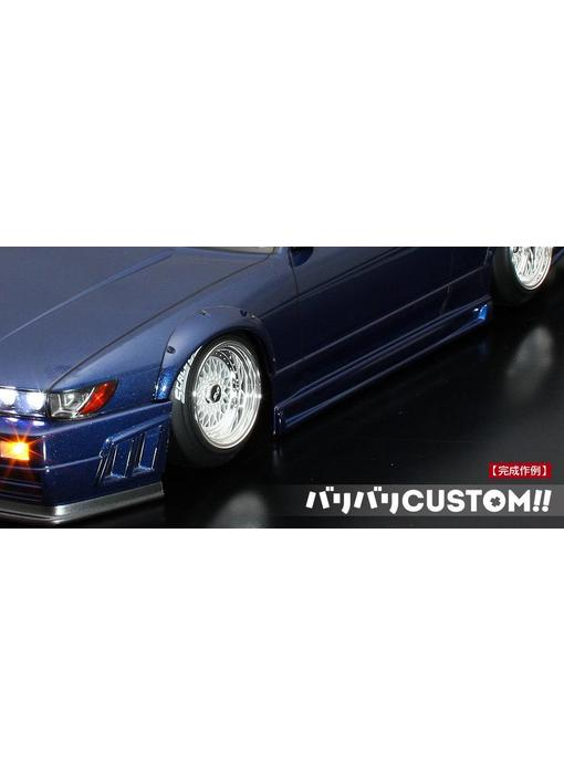 ABC Hobby Over Fender Kit for Nissan Silvia S13 (66142)