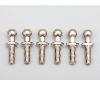 Yokomo Rod End Ball L Size / Length 14.7mm / Thread ?mm with Hex Hole (6pcs)