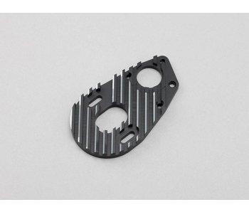 Yokomo Aluminium Special Motor Mount - Black Edge Design