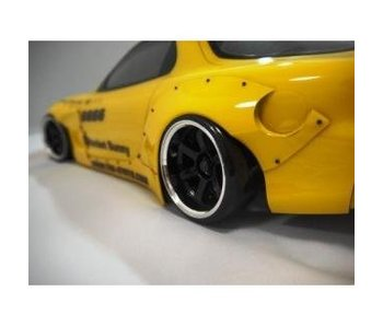 Addiction RC Mazda RX-7 Rocket Bunny Body Kit - Side Skirt & Fender Kit