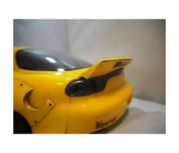 Addiction RC Mazda RX-7 Rocket Bunny Body Kit - Duck-Tail Wing