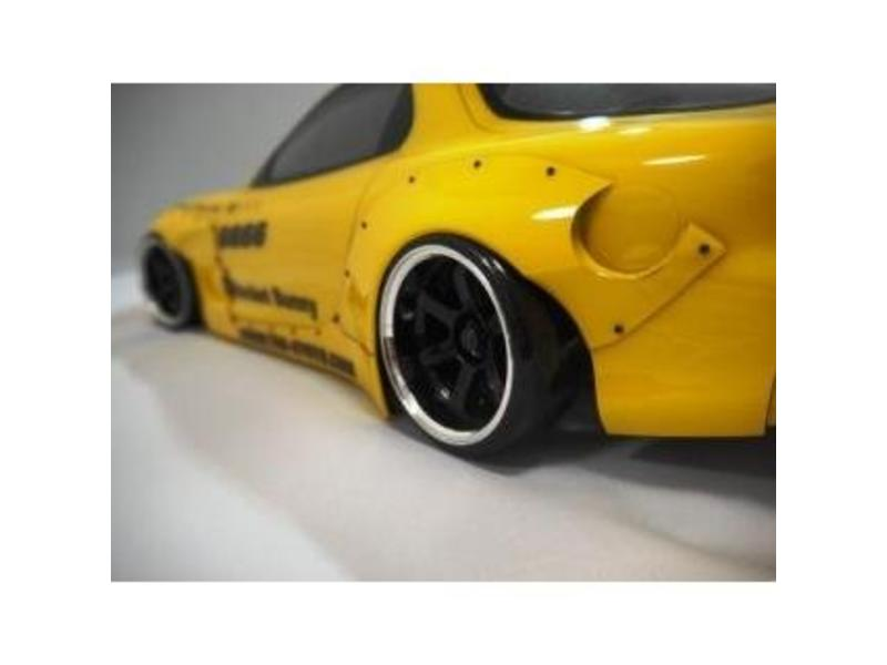 Addiction RC AD014-4 - Mazda RX-7 Rocket Bunny Body Kit - Full Set