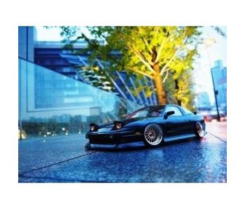 Addiction RC Nissan 180SX BN Sports Body Kit - Full Set
