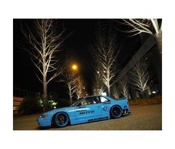 Addiction RC Nissan Silvia S13 Rocket Bunny Body Kit V2 Ver. Mine - Full Set