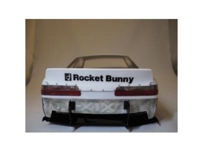 Addiction RC AD011-5 - Nissan Silvia S13 Rocket Bunny Body Kit V2 - Full Set