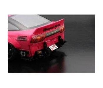 Addiction RC Nissan 180SX Rodeo Special V2 Body Kit - Rear Diffuser
