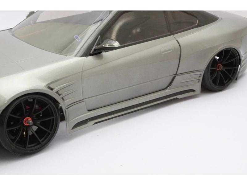 Addiction RC AD008-4 - Nissan Silvia S15 Addiction Aero Parts Body Kit - Full Set