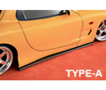 ABC Hobby Side Skirt for Mazda RX-7 Type-A