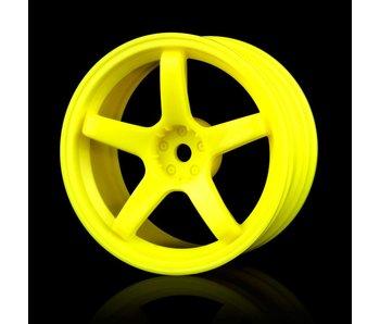 MST 5 Spokes Wheel (4) / Yellow