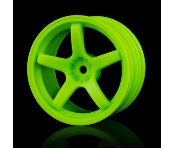 MST 5 Spokes Wheel (4) / Green