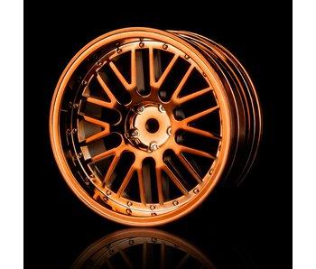 MST 10 Spokes 2 Ribs Wheel (4) / Copper