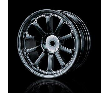 MST 77SV Wheel (4) / S Silver Black