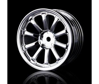 MST 77SV Wheel (4) / Silver