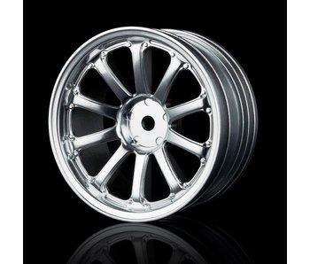 MST 77SV Wheel (4) / Flat Silver