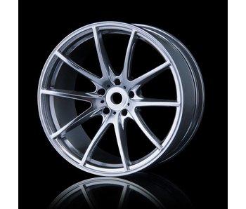 MST G25 Wheel (4) / Flat Silver