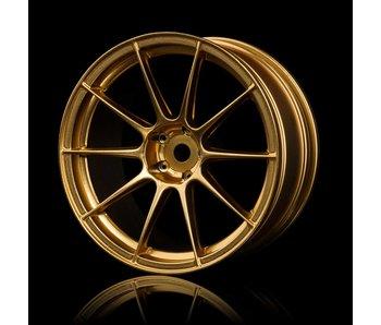 MST 5H Wheel (4) / Gold