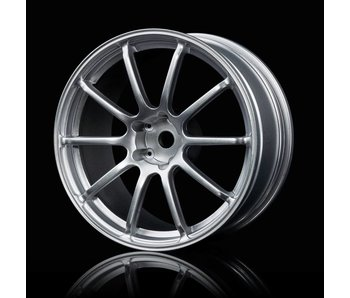 MST RS II Wheel (4) / Flat Silver