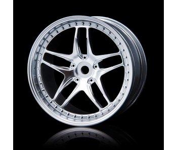 MST FB Wheel (4) / Flat Silver