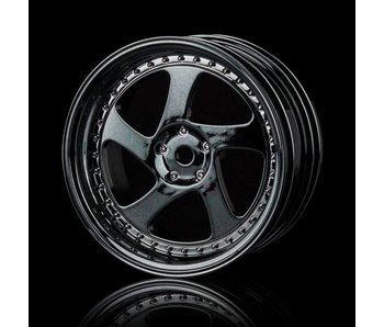 MST TMB Wheel (4) / Silver Black
